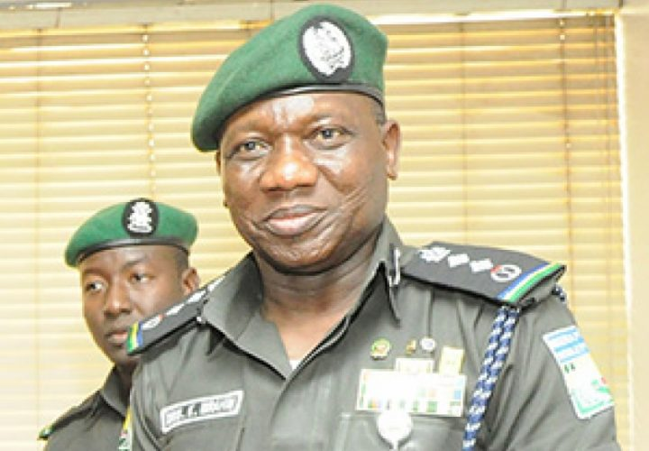 IGP Idris Condoles With Families of Slain Policemen
