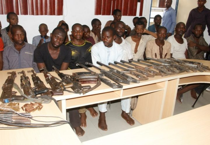 28 Suspects Paraded By Police High Command for Vicious Crimes