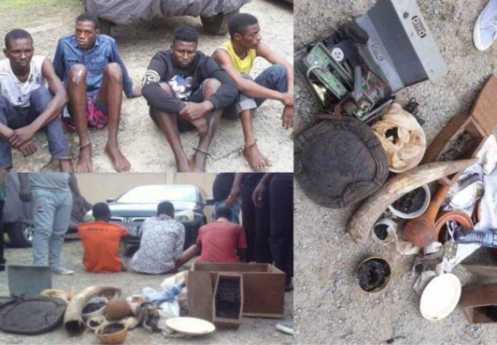 Driver, Herbalist and Other Gang Members Arrested For Kidnapping in Lagos