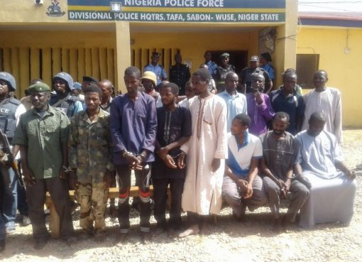 16 Arrested For Kidnapping, Armed Robberies in Abuja