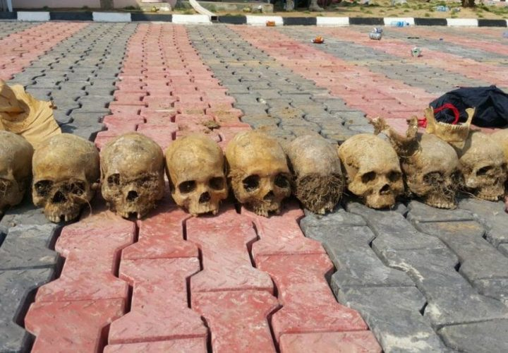 Human Skulls Recovered By Army in Kidnappers Shrines