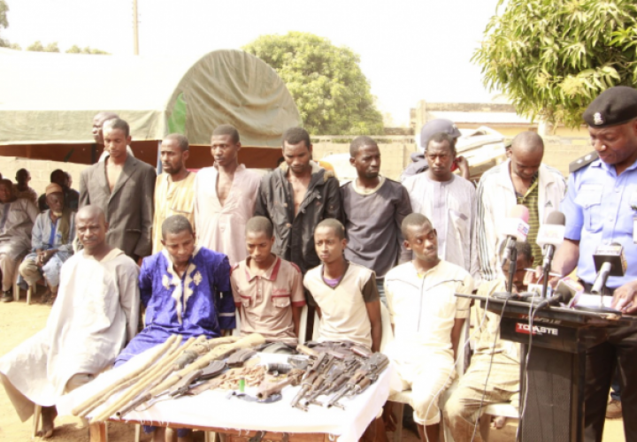 13 Suspected Kidnappers, Armed Robbers Quiz by Police