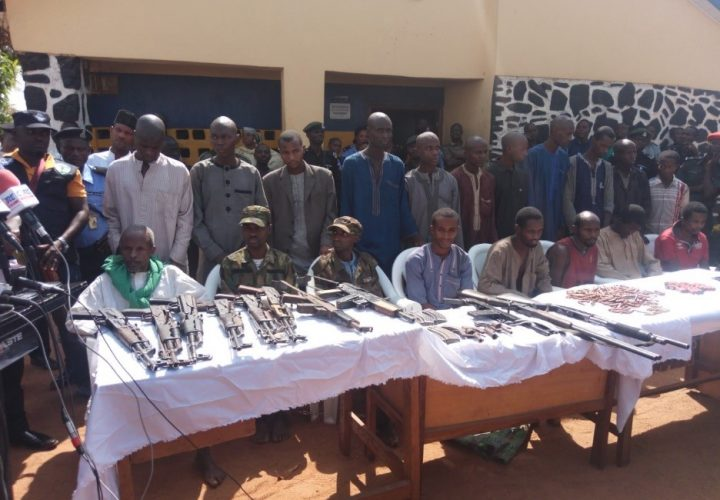 19 Suspected Cattle Rustlers, Kidnappers, and Armed Robbers Paraded By Police in Abuja