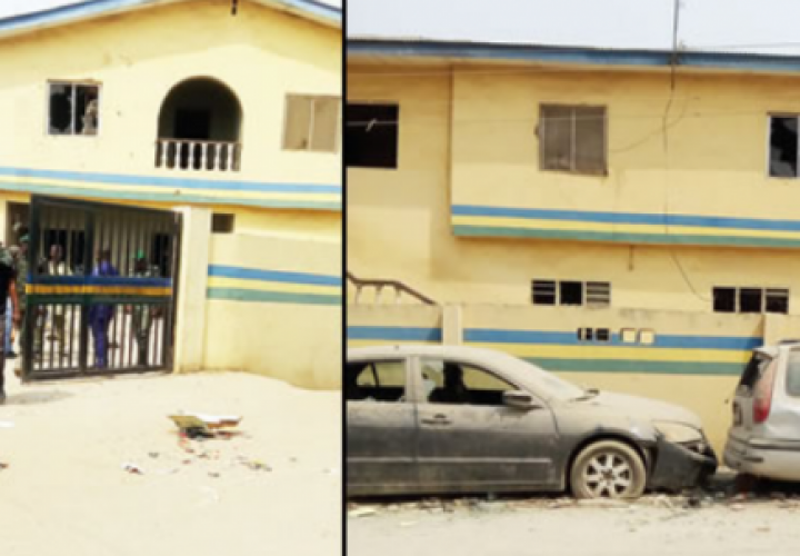 Hoodlums Attack Police Station in Ogun, Free Suspects, Destroy Property