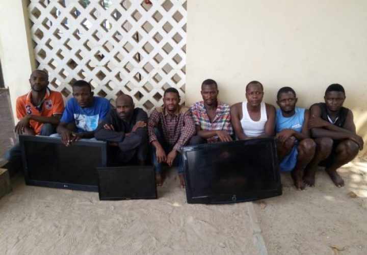 IRT Quiz Car Robbery Syndicate in Abuja