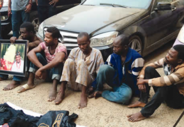 Police Bust Armed Robbery Gang Led By Medical Doctor