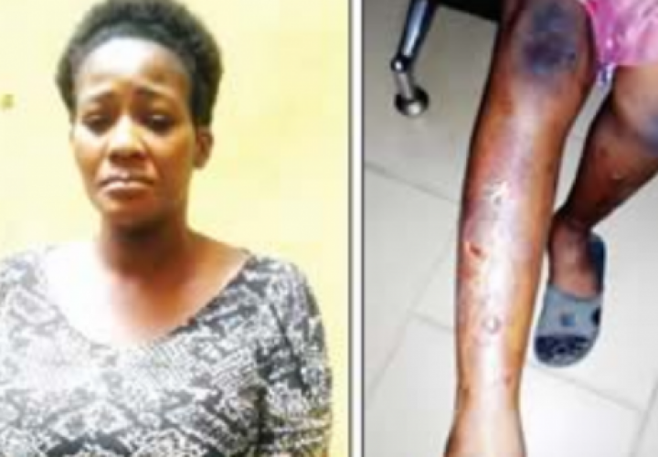 Police Arrest Woman for Torturing 10-Year-Old Maid with Hot Iron
