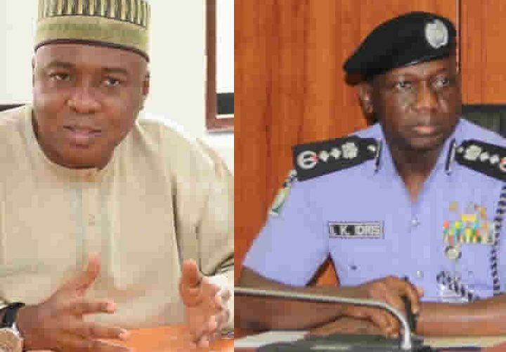 Saraki React to Police Invitation after Protest