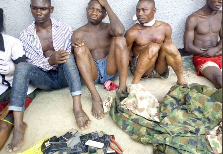 Army kill one, Arrest Five Robbery Suspects in Kogi