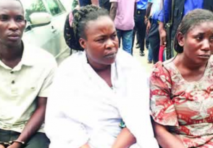 Lagos Police Arrest House Wife Who Faked her Own Kidnap